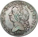 SAVOIA  CARLO EMANUELE III - monetazione per ...