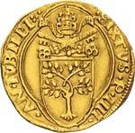 SISTO IV  (1471-1484)  Fiorino di camera An. ...