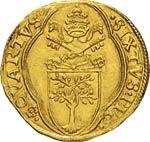 SISTO IV  (1471-1484)  Fiorino di camera, ...