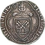 NICOLO V  (1447-1455)  Grosso del Giubileo, ...