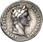 AUGUSTO  (27 a.C.-14 d.C.)  Denario.  D/ ...