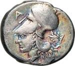 AMBRACIA    (400-375 a.C.)  Statere di tipo ...