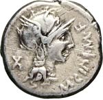 CIPIA - M. Cipius M.f.  (115-114 a.C.)  ...