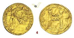 BOLOGNA  CARLO V  (1530-1556)  Mezzo ...