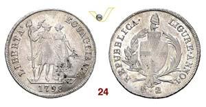 GENOVA  REPUBBLICA LIGURE  (1798-1805)  2 ...