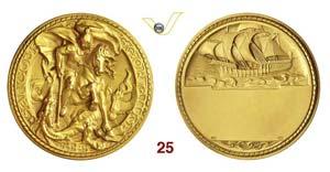 GENOVA - (Sec. XXI)  Splendida medaglia in ...