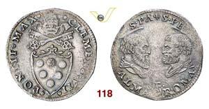 - CLEMENTE VII  (1523-1534)  Doppio Giulio, ...