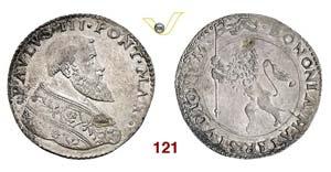 - PAOLO III  (1534-1549)  Bianco o Mezza ...