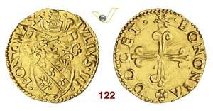 - GIULIO III  (1550-1555)  Mezzo Scudo ...