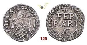- GREGORIO XV  (1621-1623)  Mezzo Grosso ...