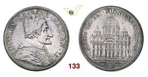 - INNOCENZO XI  (1676-1689)  Piastra A. II, ...