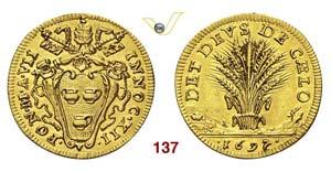 - INNOCENZO XII  (1691-1700)  Scudo doro ...
