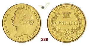 AUSTRALIA - VICTORIA  (1837-1901)  Sovereign ...