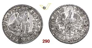 AUSTRIA - LEOPOLDO Arciduca  (1619-1632)  ...