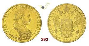 AUSTRIA - FRANZ JOSEF I  (1848-1916)  4 ...