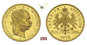 AUSTRIA - FRANZ JOSEF I  (1848-1916)  8 ...