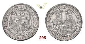 AUSTRIA  SALISBURGO -   Mezzo Tallero 1708.  ...