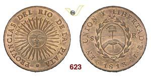 ARGENTINA - Medaglia 1913 per il 100° ...