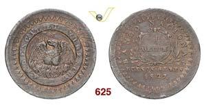 ARGENTINA  BUENOS AIRES -   10 Decimos 1827, ...