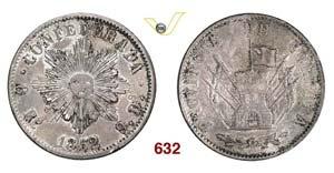 ARGENTINA  CORDOBA -   8 Reales 1852.   Kr. ...