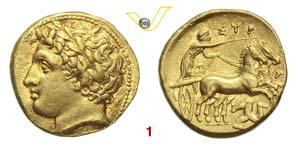 SICILIA  SIRACUSA, AGATOCLE  (317-310 a.C.)  ...