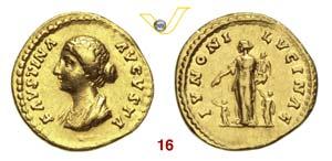 FAUSTINA Figlia  (moglie di Marco Aurelio, ...