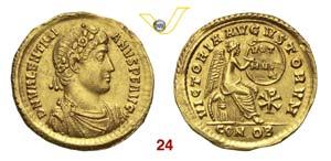 VALENTINIANO I  (364-375)  Solido, ...