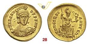 ARCADIO  (383-408)  Solido, ...