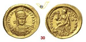 TEODOSIO II  (402-450)  Solido, ...