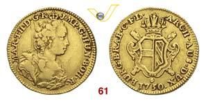 BELGIO  MARIA TERESA  (1740-1780)  Sovrana ...