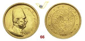 EGITTO  FUAD  (1917-1936)  100 Piastre 1922. ...