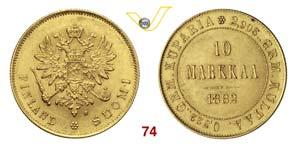 FINLANDIA  ALESSANDRO II  (1855-1881)  10 ...