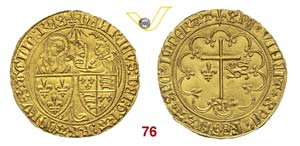 FRANCIA  ENRICO VI  (1422-1435)  Saluto ...