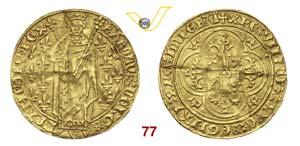 FRANCIA  CARLO VII  (1422-1461)  Reale doro ...