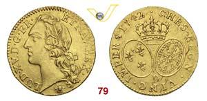 FRANCIA  LUIGI XV  (1715-1774)  Luigi doro ...