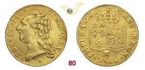 FRANCIA  LUIGI XVI  (1774-1793)  Luigi doro ...