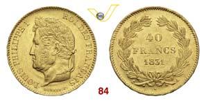 FRANCIA  LUIGI FILIPPO  (1830-1848)  40 ...