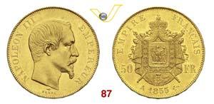 FRANCIA  NAPOLEONE III  (1852-1870)  50 ...