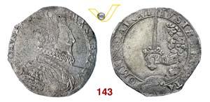 CARLO EMANUELE I  (1580-1630)  Scudo s.d., ...