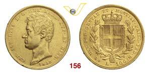 CARLO ALBERTO  (1831-1849)  100 Lire 1832 ...