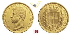 CARLO ALBERTO  (1831-1849)  100 Lire 1833 ...