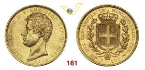 CARLO ALBERTO  (1831-1849)  100 Lire 1834 ...