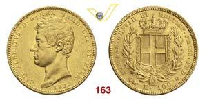 CARLO ALBERTO  (1831-1849)  100 Lire 1835 ...
