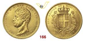 CARLO ALBERTO  (1831-1849)  100 Lire 1840 ...