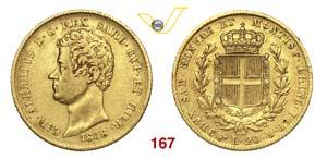 CARLO ALBERTO  (1831-1849)  20 Lire 1838 ...