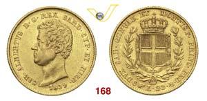 CARLO ALBERTO  (1831-1849)  20 Lire 1839 ...