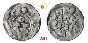 PAVIA  OTTONE III, Imperatore  (983-1002)  ...