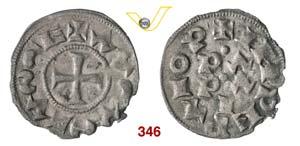 PAVIA  IL COMUNE  (1250-1359)  ½ Denaro ...