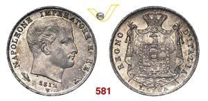 NAPOLEONE I, Imperatore  (1804-1814)  Lira ...