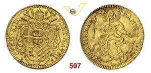 CLEMENTE XIII  (1768-1769)  Zecchino 1766 A. ...